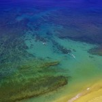 Honokowai Beach arial view with Tiny Bubbles Scuba in Maui