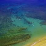 Honokowai Beach arial view with Tiny Bubbles Scuba in Maui