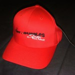 "TBS ""flexfit"" hat Red"