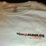 Tiny Bubbles Scuba T-shirt front