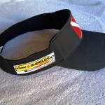 "TBS ""flexfit"" visor right"