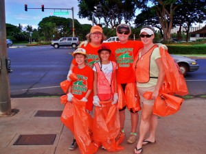 Getting ready to hit the Highway and Keep MAUI clean and green !!