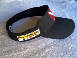 "Tiny Bubbles Scuba ""FlexFit"" visor"