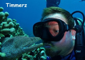 White Mouth Moray Eel & Timmerz