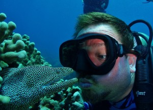 White Mouth Moray Eel and Timmerz Kiss