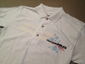 TBS Polo Wht – front (Small - XLarge)