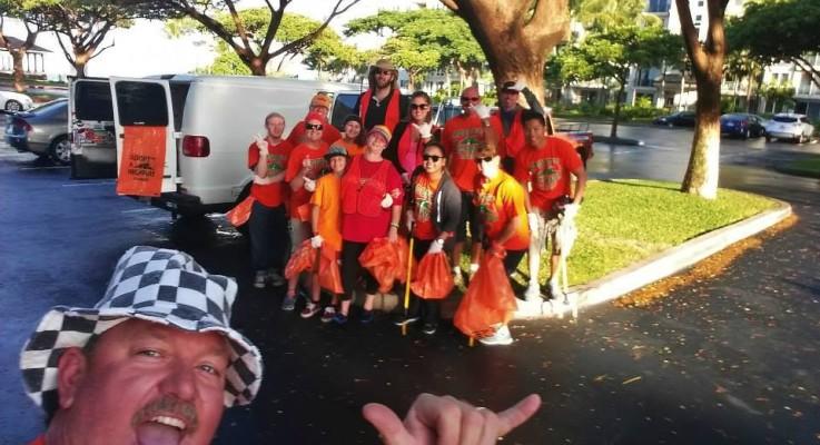Adopt-A-Hwy Cleanup  FEB. 20, 2016